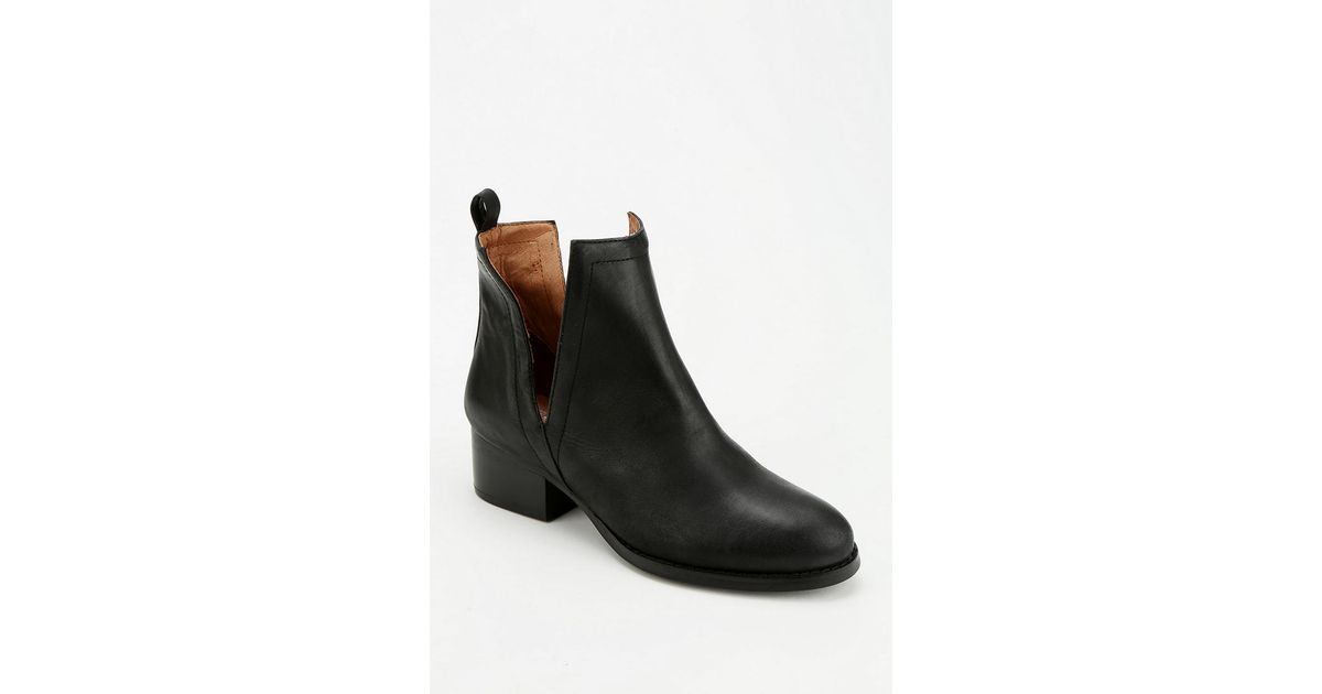 jeffrey cbell oriley cutout ankle boot in black lyst