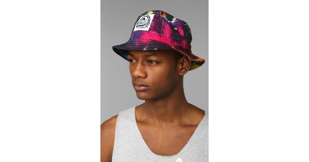 39ac8dfbc0e880 Urban Outfitters Milkcrate Athletics Tiedye Bucket Hat for Men - Lyst