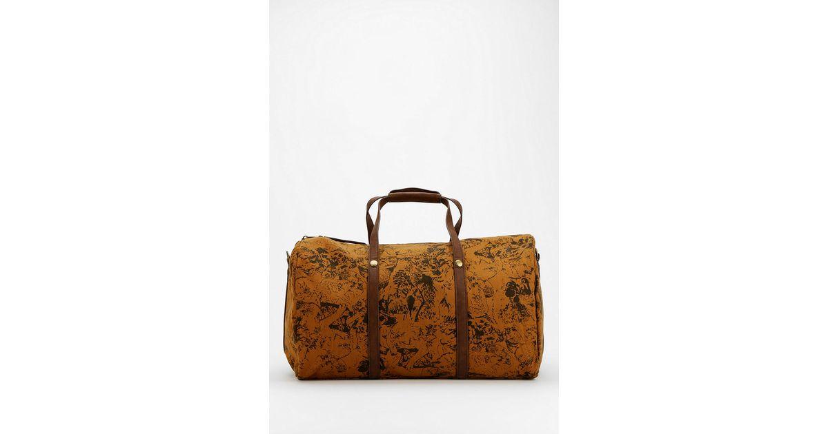 Urban Outers Brown Obey Wolf Pack Weekender Bag