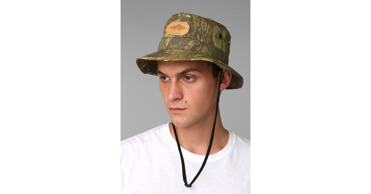 Lyst - Urban Outfitters Coal The Spackler Bucket Hat in Green for Men da8e0871608e