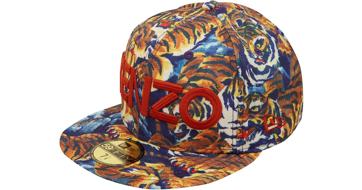Lyst - KENZO New Era Flying Tiger Cap 7b1e7450c3d