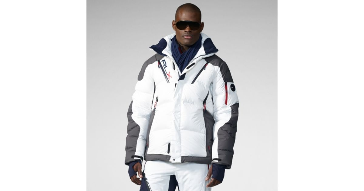 9e5fa71f RLX Ralph Lauren Engage Down Jacket in White for Men - Lyst