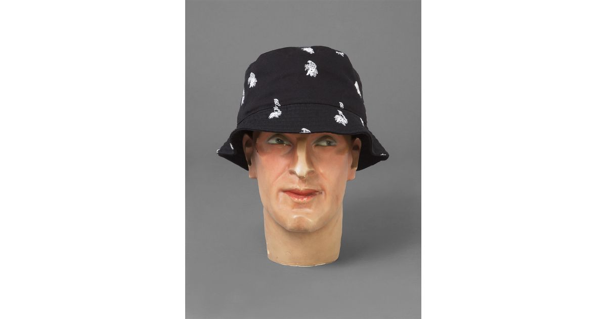 1f426a7a59f01f Palace Parrot Bucket Hat in Black for Men - Lyst