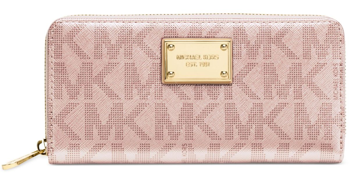6e8d53195aac Michael Kors Metallic Rose Gold Wallet - Best Photo Wallet ...