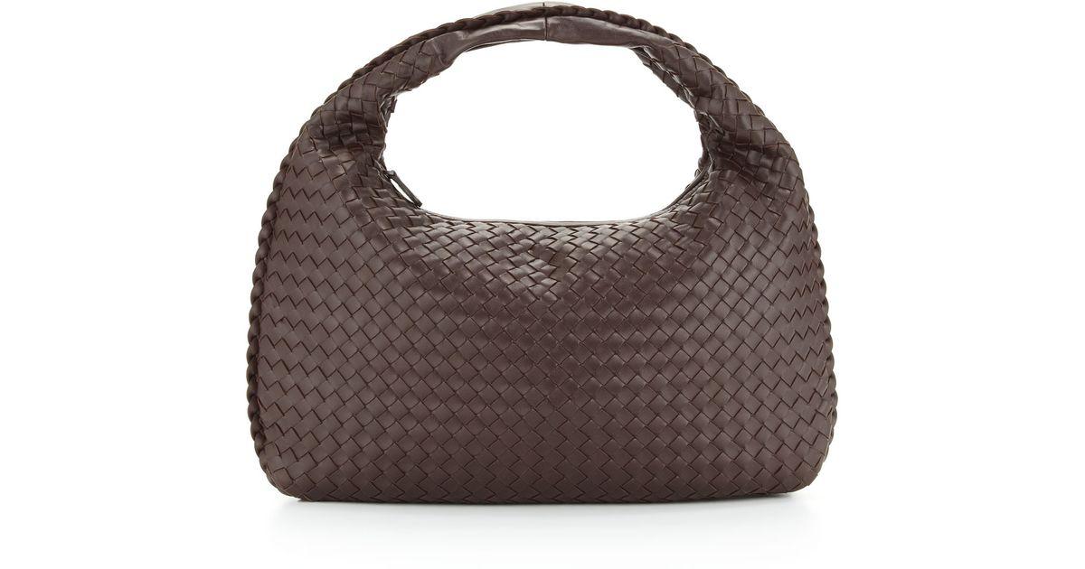 fbdb74628321 Lyst bottega veneta intrecciato medium hobo bag in brown jpeg 1200x630 Bag  hobo bottega veneta