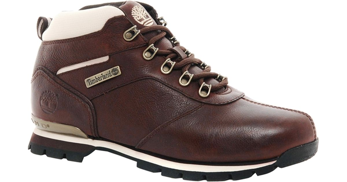 Timberland Brown Splitrock 2 Hiking Boots for men