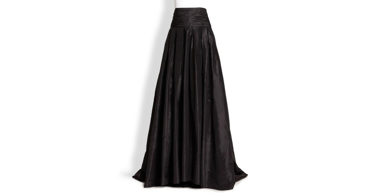 Carolina Herrera Icon Collection Silk Cummerbund Ball Gown