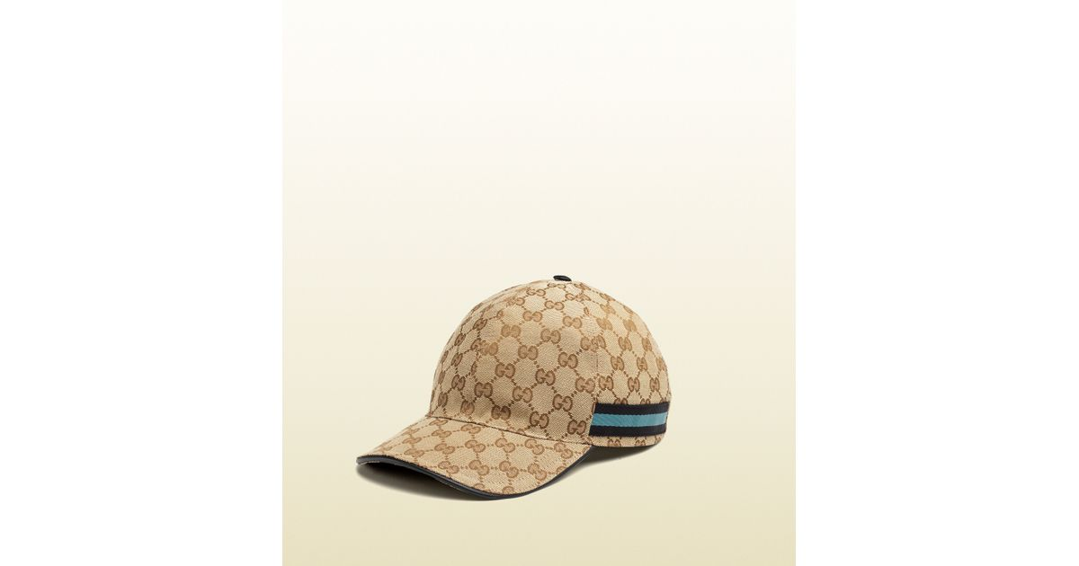 2515d060d1d Lyst - Gucci Original Gg Canvas Baseball Hat in Brown