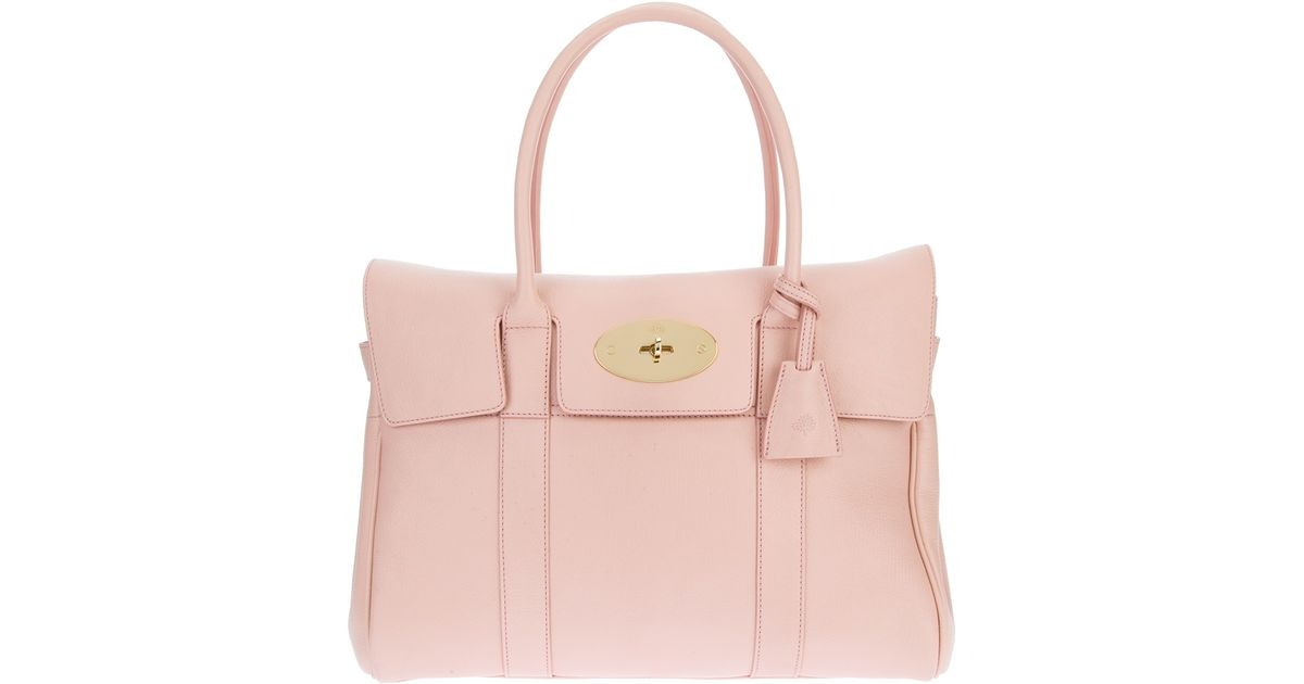 34ff1bc88d Mulberry Bayswater Bag in Pink - Lyst