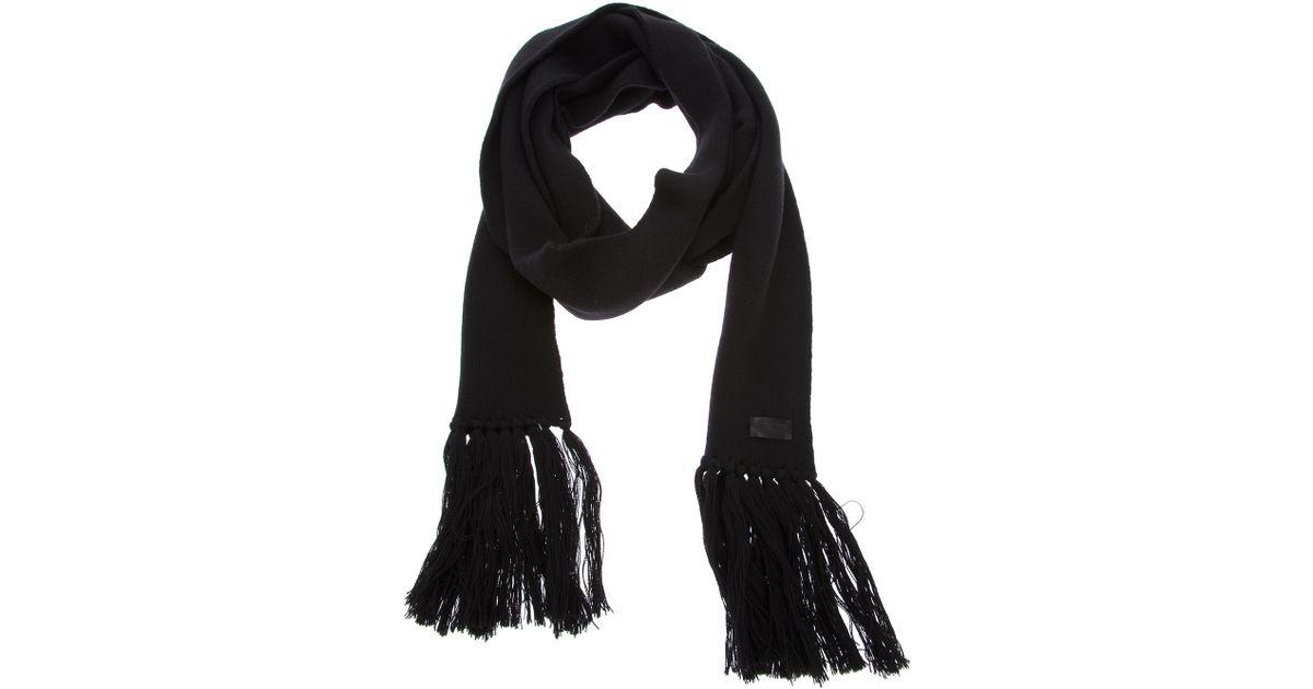 tassel scarf - Black Saint Laurent zUYvaaqh