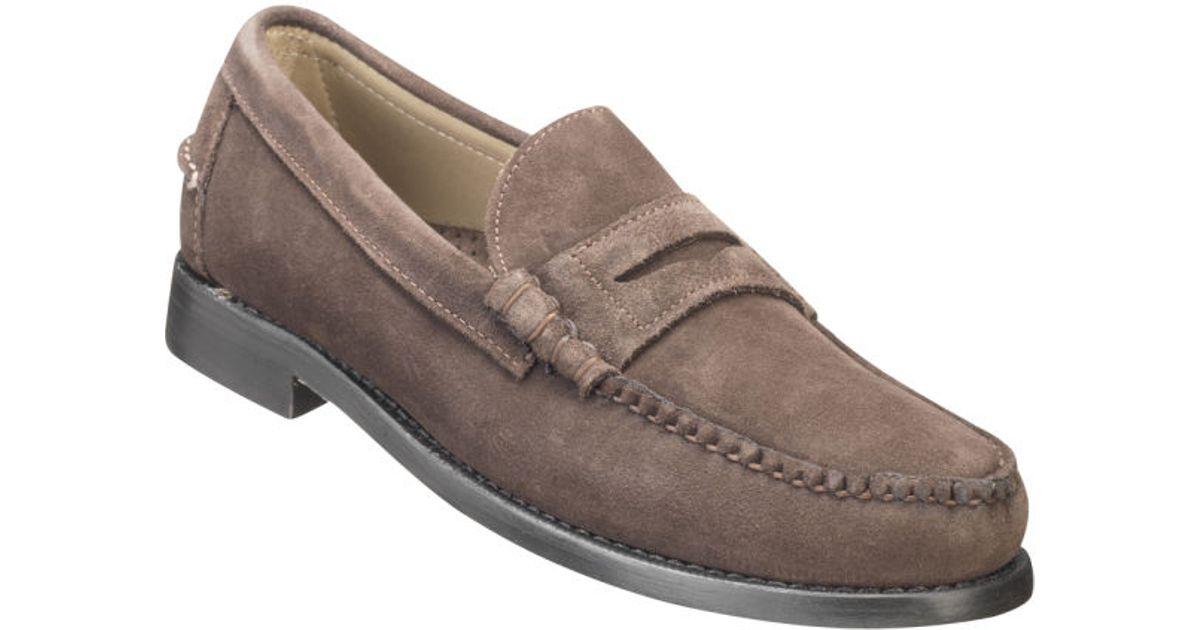 Sebago Mens Classic Suede Loafers in