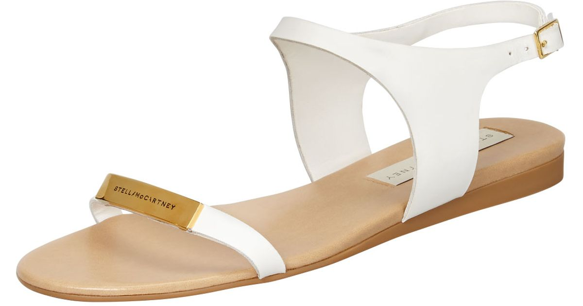 Stella McCartney Logo Sandals PqjATJ7UZD
