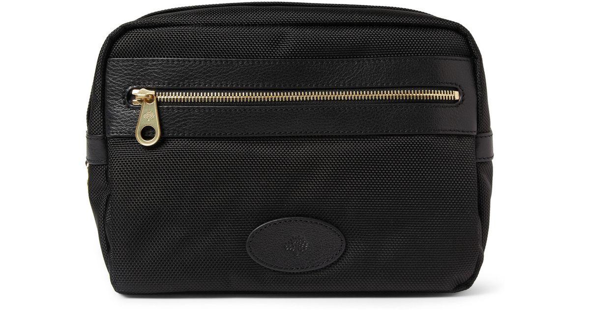 30442f7ec7 Mulberry Henry Wash Bag in Black for Men - Lyst