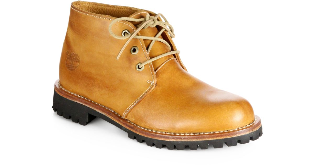 Lyst Timberland Earthkeepers Heritage Rugged Chukka Boots In Brown For Men