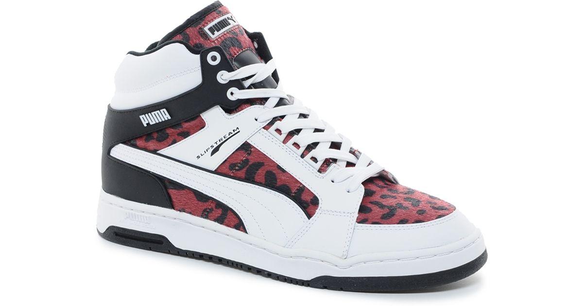 PUMA White Slipstream Animal Sneakers for men