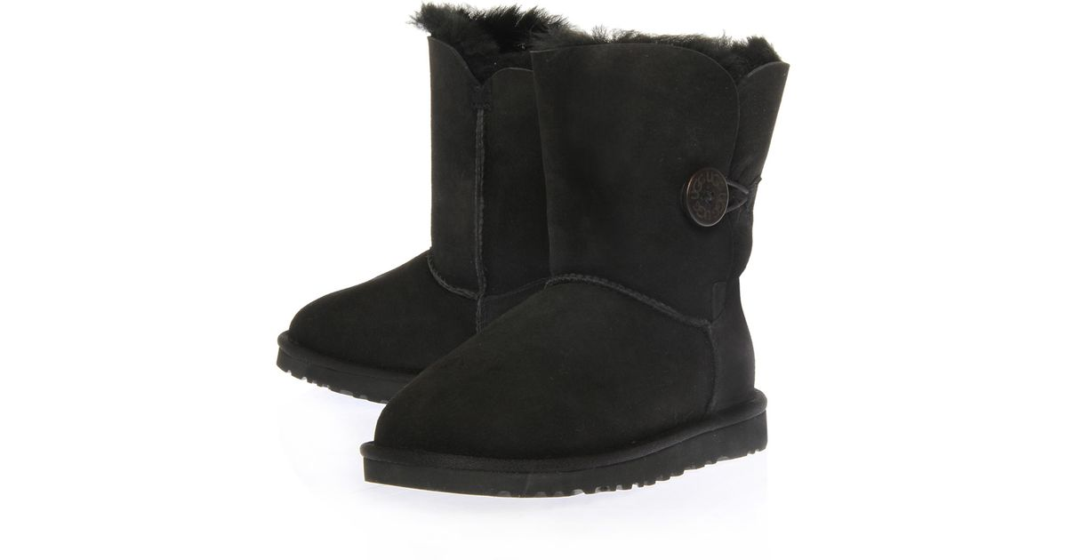 b8d0f1d853d UGG Black Valentina Shearling and Suede Boots