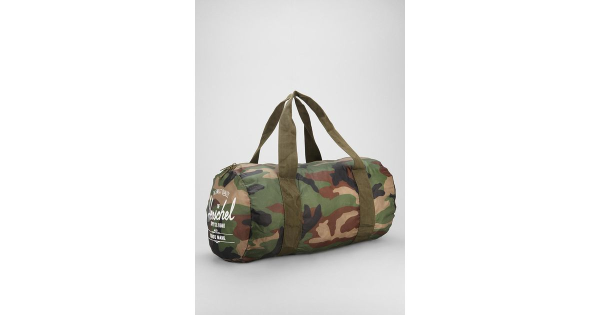 Lyst - Urban Outfitters Herschel Supply Co Packable Duffle Bag for Men 7b23b881a6
