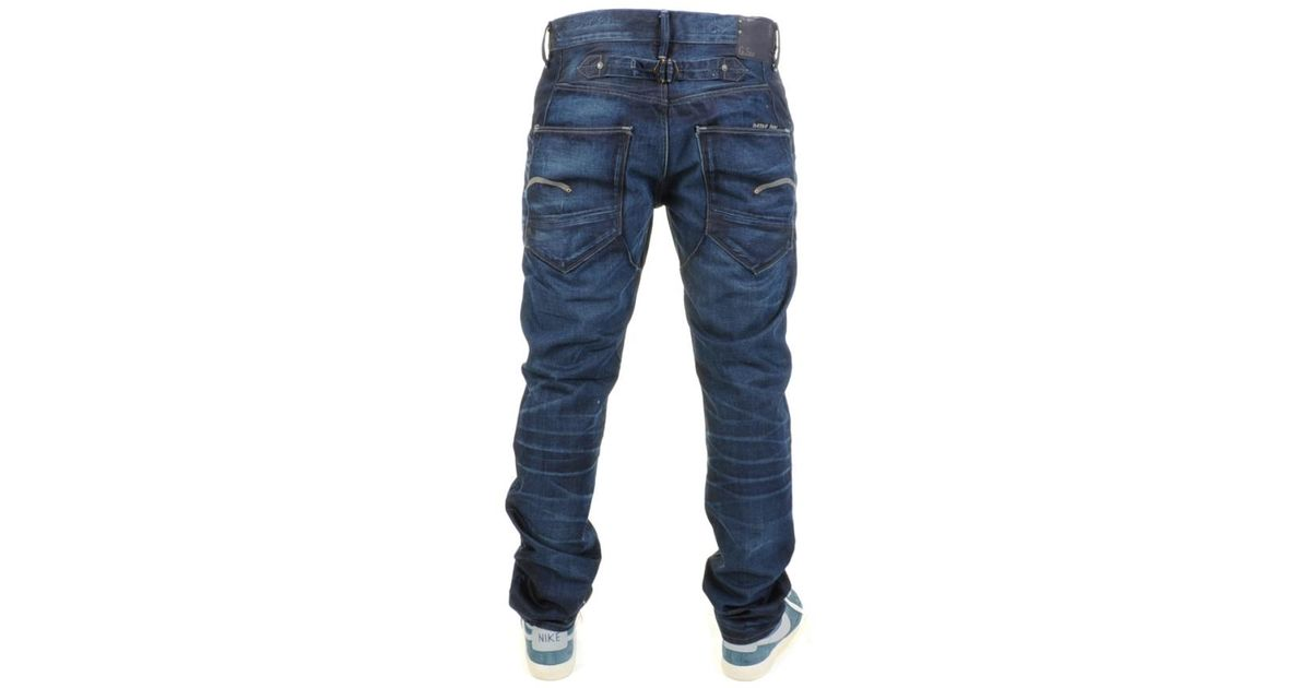 6575b98d410 G-Star RAW Blades Tapered Jeans Lexicon in Blue for Men - Lyst
