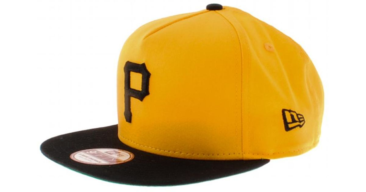 Lyst - KTZ Mlb Pittsburgh Pirates Snapback Cap in Yellow for Men 74e2a624cdf