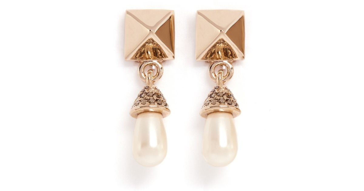 Valentino Long bead drop earrings Ea0wI