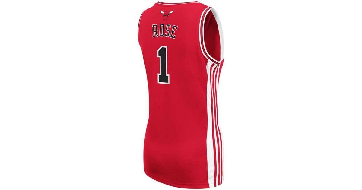 ... australia lyst adidas womens chicago bulls derrick rose jersey in red  25e73 4fd80 ... 21024b9bb