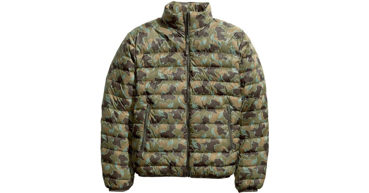 02bb58cdc H&M Multicolor Down Jacket for men