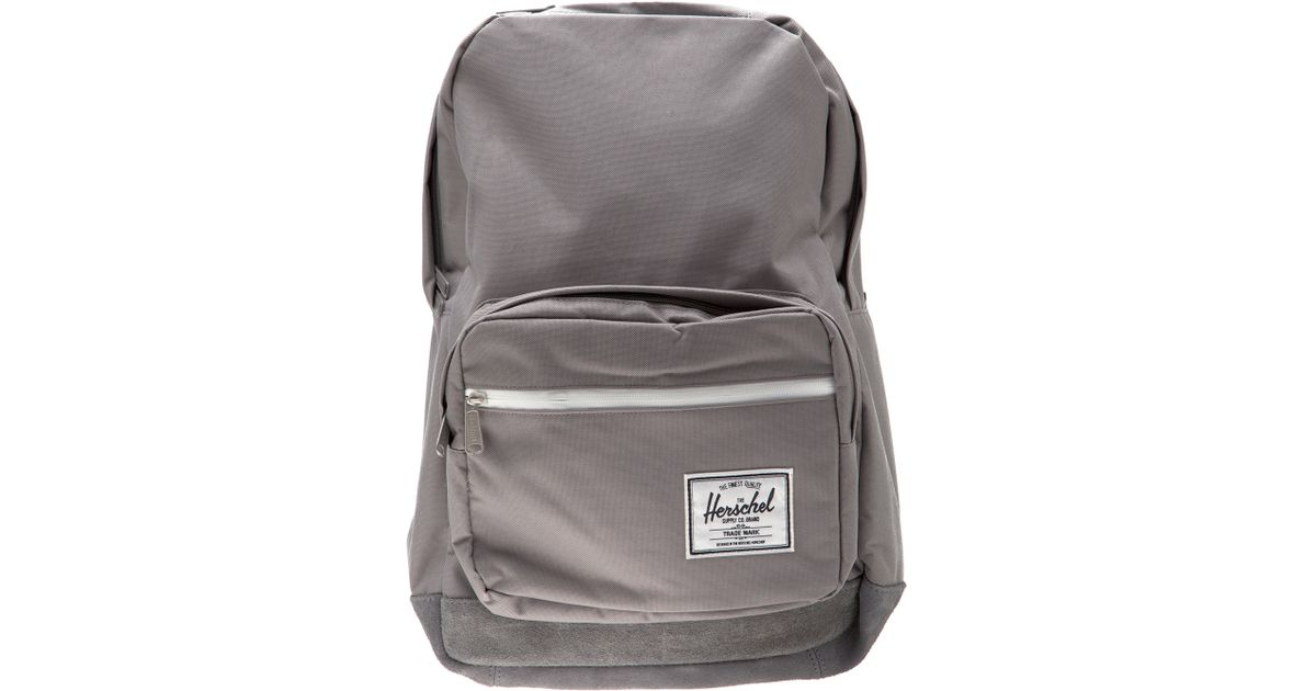 Herschel Supply Co. Pop Quiz Backpack in Gray for Men - Lyst 8cbd86da13446