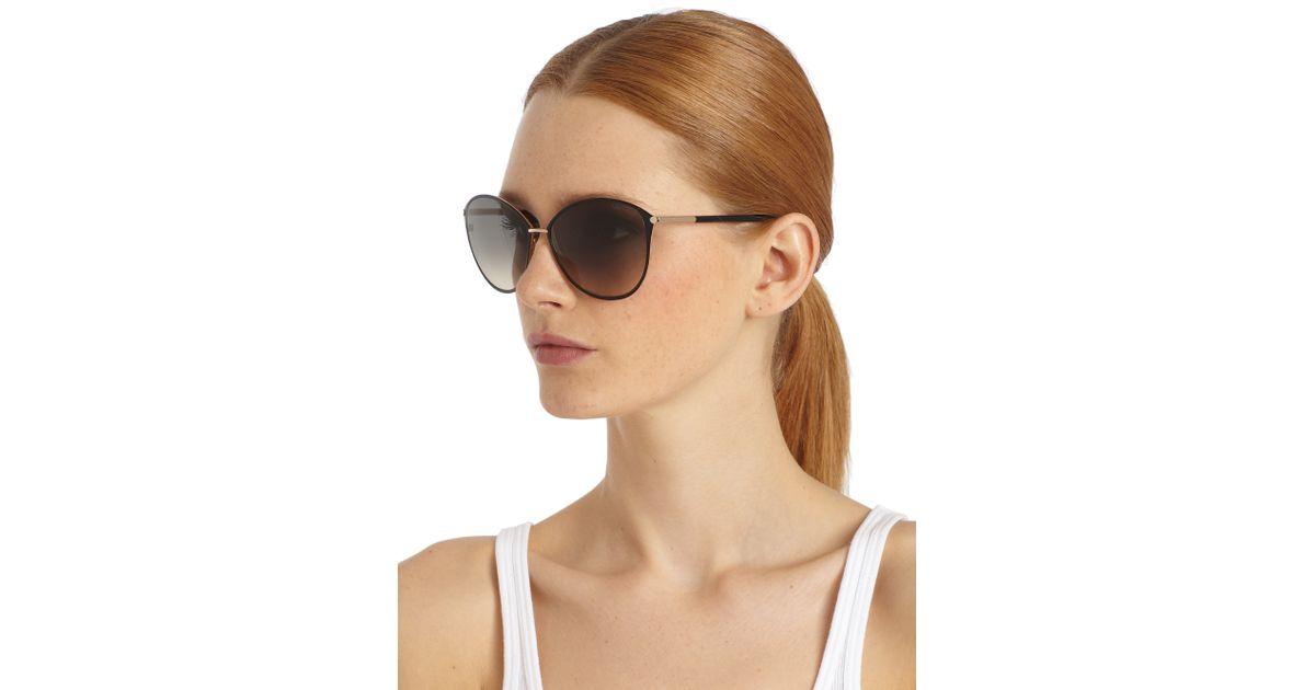 f8075831 Tom Ford Black Penelope Oversized Sunglasses