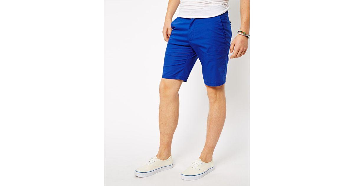 Asos Esprit Suit Shorts in Blue for Men   Lyst