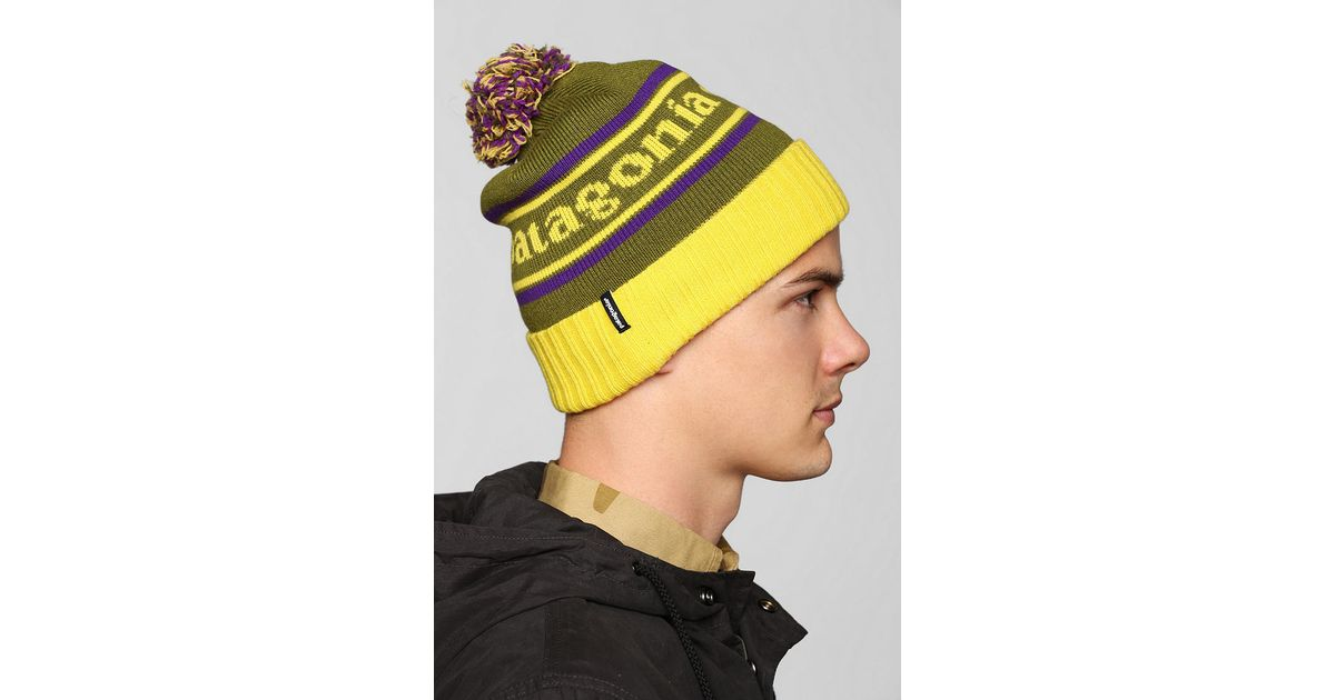 8300d64dc73 Lyst - Urban Outfitters Patagonia Powder Town Beanie in Green for Men