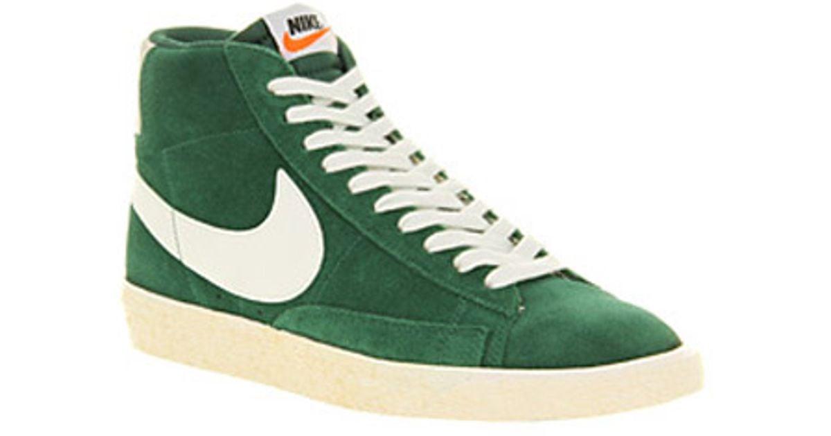 nike blazer green vintage cheap online
