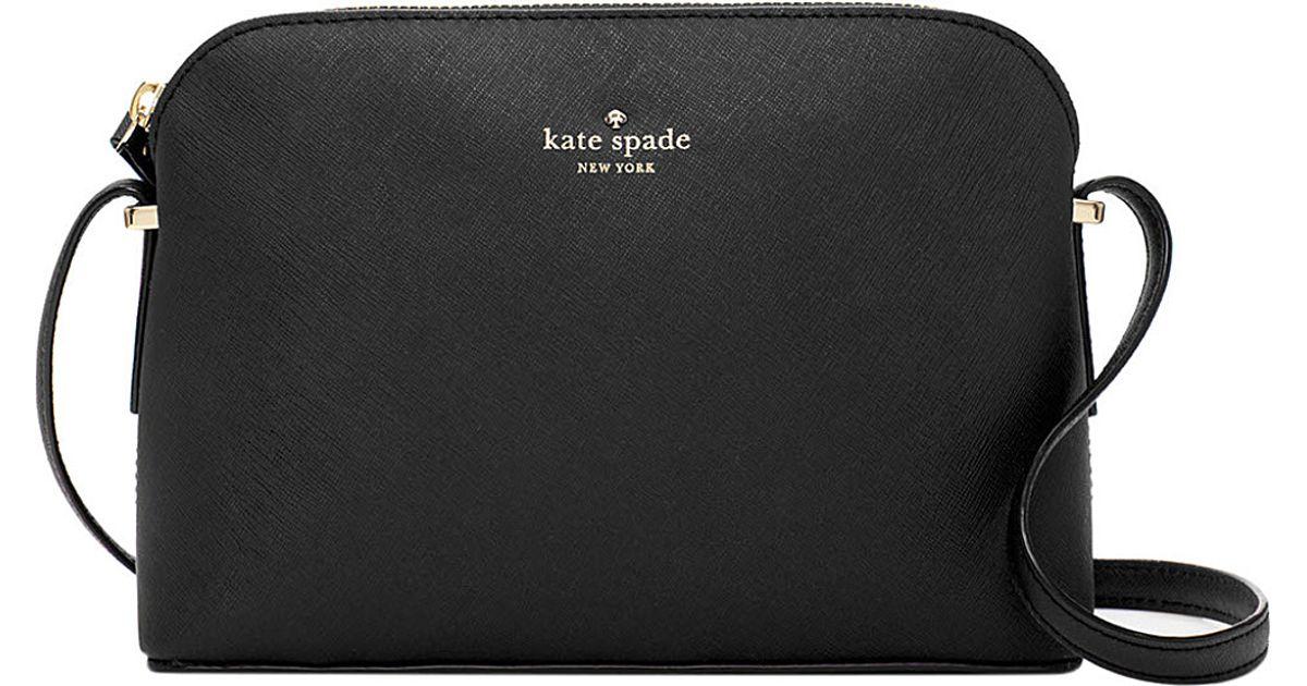 4187b6078 Kate Spade Cedar Street Mandy Saffiano Leather Crossbody Bag in Black - Lyst
