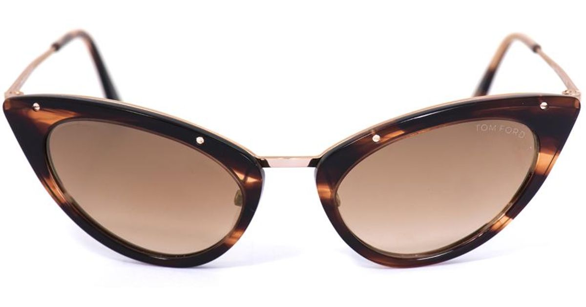 de42682aa7 Sunglasses Grace Lyst Tom Eye Ford Brown Cat In Xxw4qZEwC