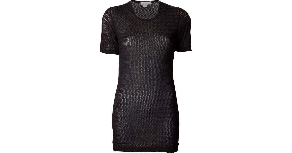 b219dee84 Sloane   Tate Manchester T-Shirt in Black - Lyst