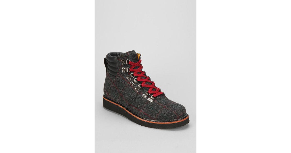 Urban Outfitters Timberland Abington Woolrich Hiker Boot