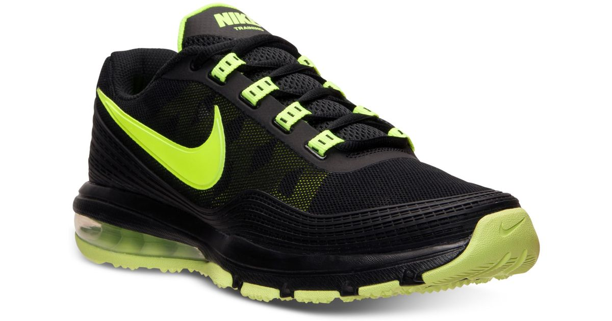 the best attitude d8beb 1e942 Lyst - Nike Mens Air Max Tr 365 Training Sneakers From Finish Line in  Yellow for Men