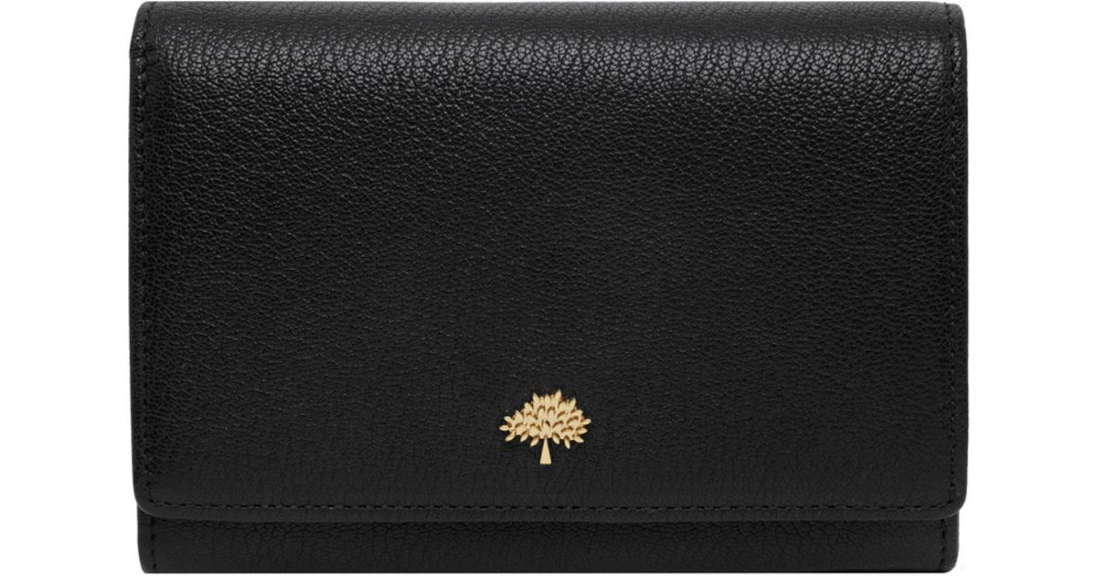 4669c6ef2a58 ... authentic lyst mulberry tree french purse in black 49354 caca7
