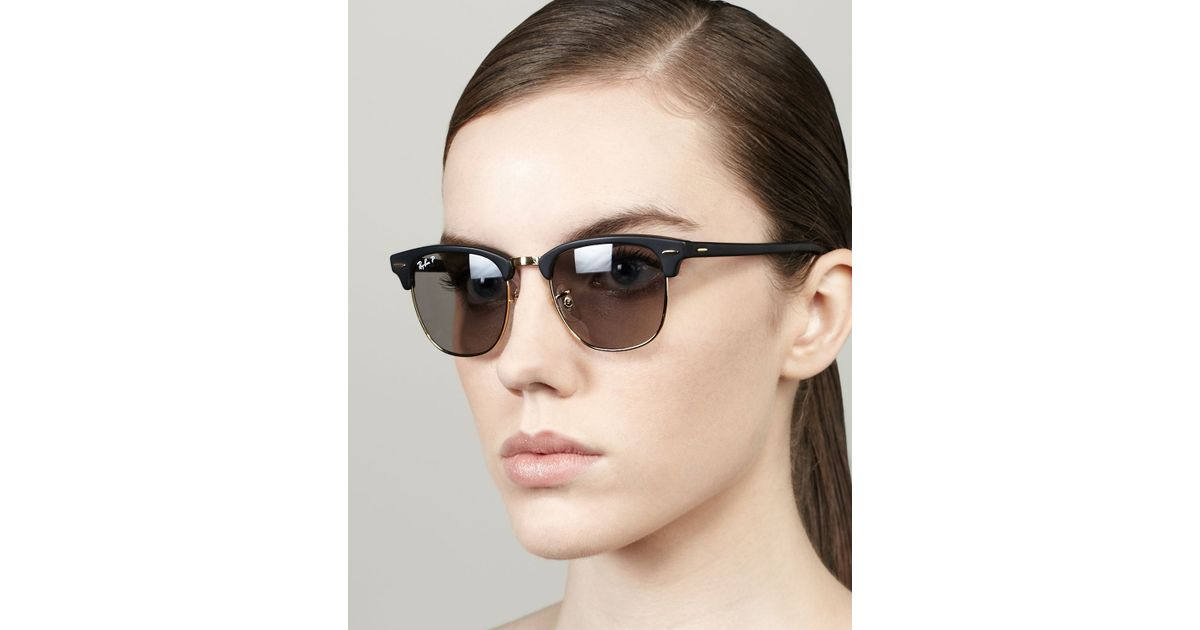 ray ban clubmaster matte black