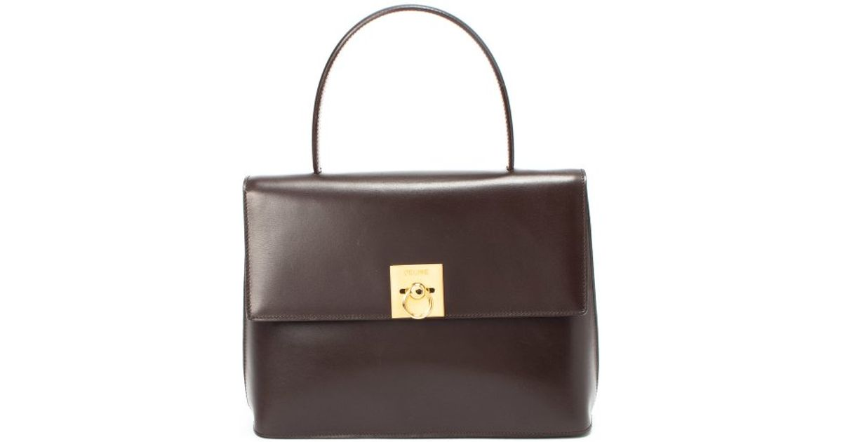 buy replica celine bags online - celine brown leather handbag