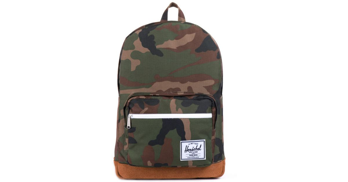 88a1d91f876 Herschel Supply Co. Pop Quiz Suede Backpack in Brown for Men - Lyst