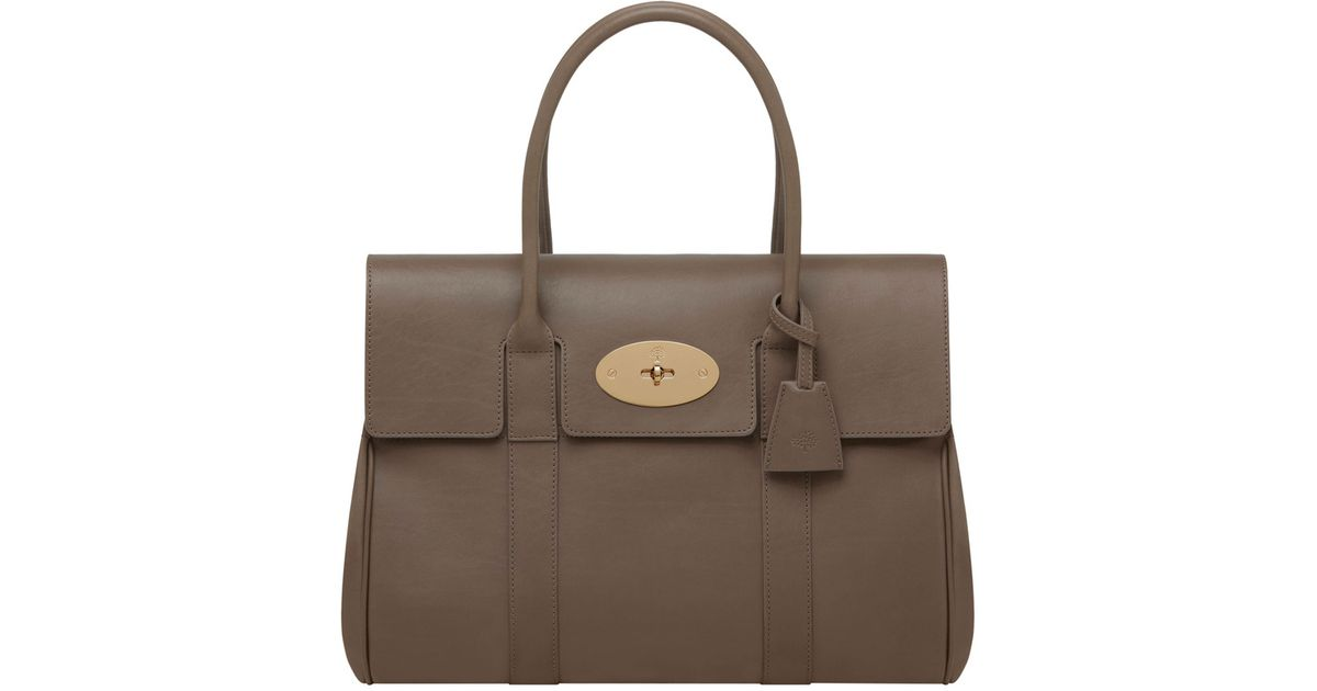 8f854ffbcd4 ... bag 5892a ebd58 low price lyst mulberry bayswater in brown d164d be1f2  ...
