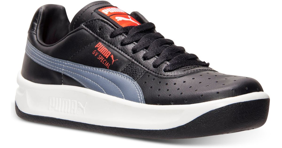 best sneakers 2b1b5 ace97 PUMA Black Mens The Gv Special Casual Sneakers From Finish Line for men