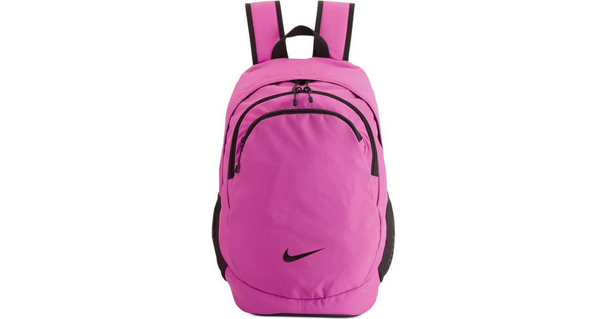 Lyst - Nike Team Training Backpack in Pink 99030825ca27e
