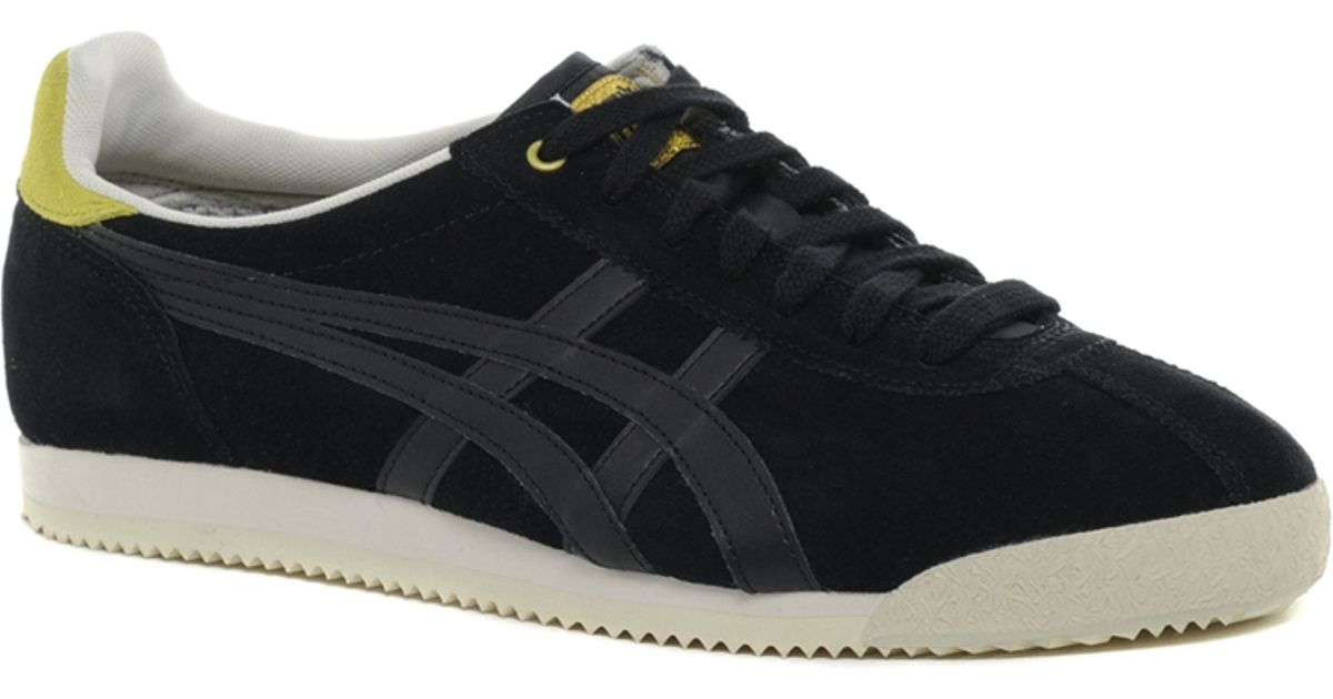 sports shoes f7389 7c65f Onitsuka Tiger - Black Tiger Corsair Suede Sneakers for Men - Lyst