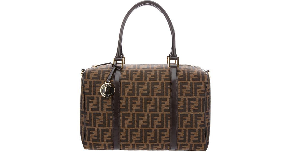 9820a4dc5b62 ... coupon code for lyst fendi monogram bag in brown 17078 c839b ...