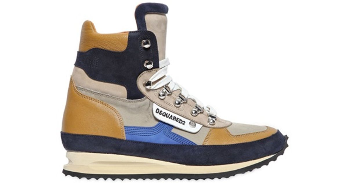 DSquared² Leather Hiking High Top