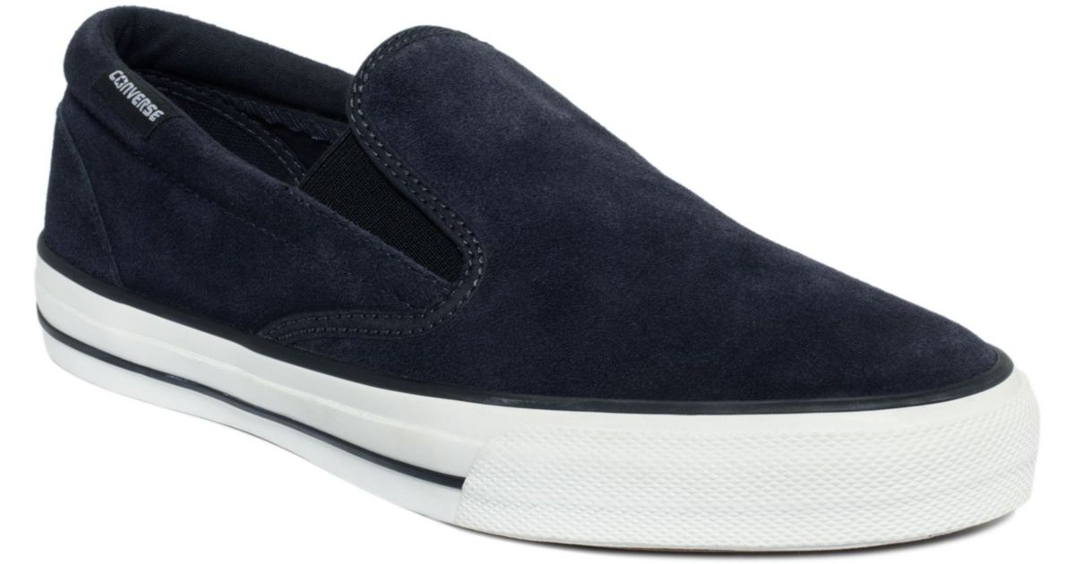 1904525715f Lyst - Converse Mens Skidgrip Ev Sneakers From Finish Line in Blue for Men