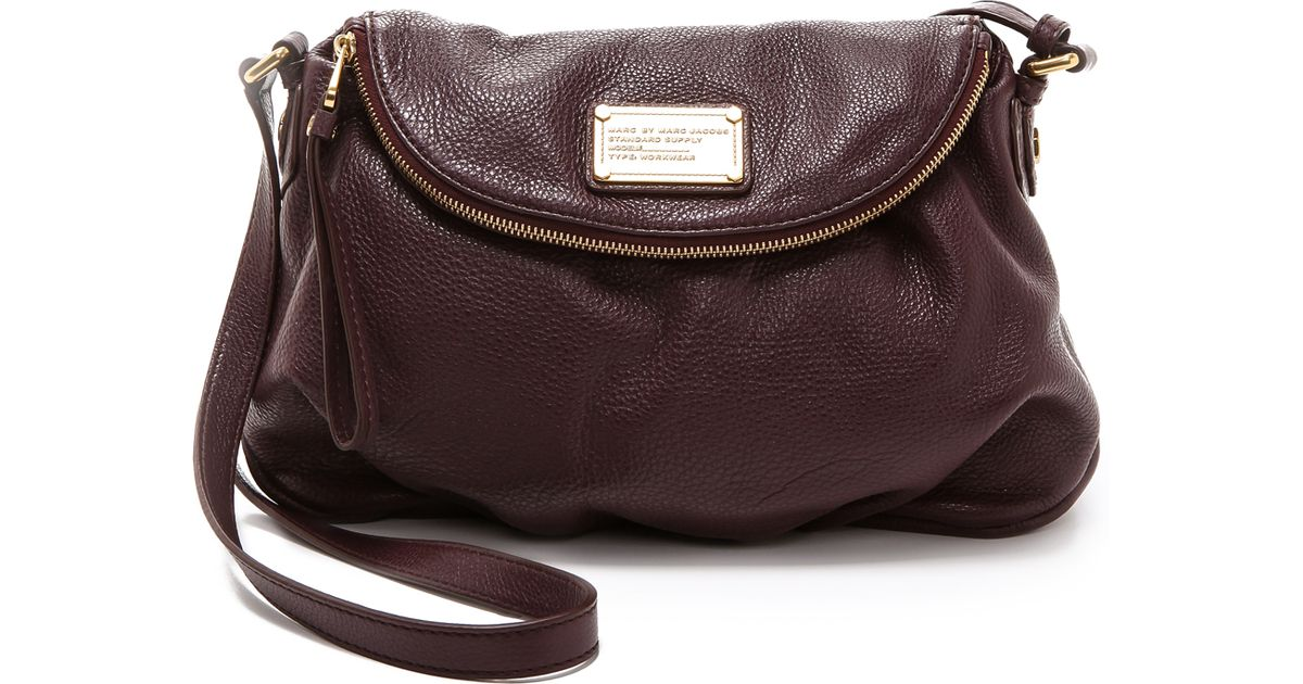 1351c6bec645 Lyst - Marc By Marc Jacobs Classic Q Natasha Cross Body Bag in Brown