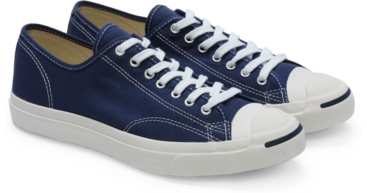 72304d908555 ... norway lyst converse jack purcell in blue for men 1bc7d d45f7