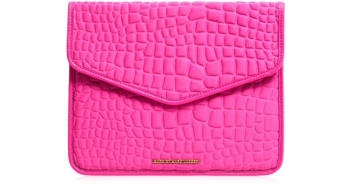 e2baf39f5c6b Lyst - Marc By Marc Jacobs In A Bind Neoprene Ipad Case in Pink